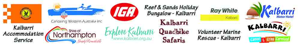 Sponsor labels for footer race results kalbarri 2017