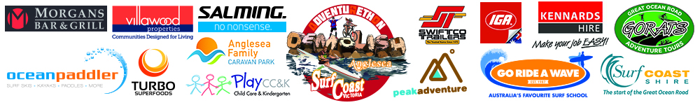Footer race results sponsor anglesea 2018